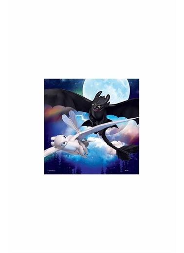 Ravensburger 3x49 Parça Puzzle Dragons 080649 Renkli